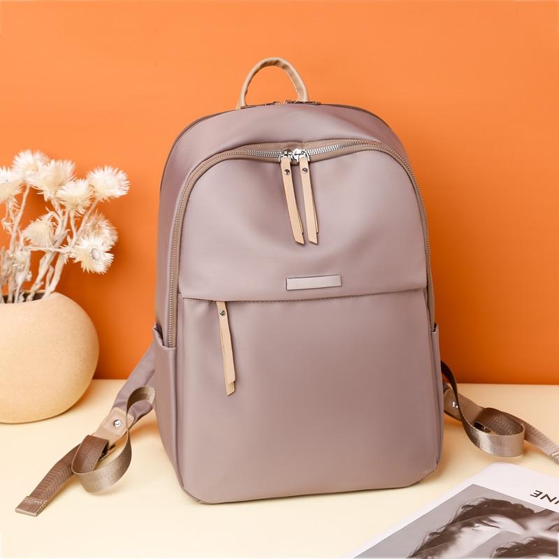 Женский пакет Оксфорд женский модный рюкзак через плечо на заднем сиденье мешок опрятный Стиль рюкзаки для девочек школьный рюкзак
