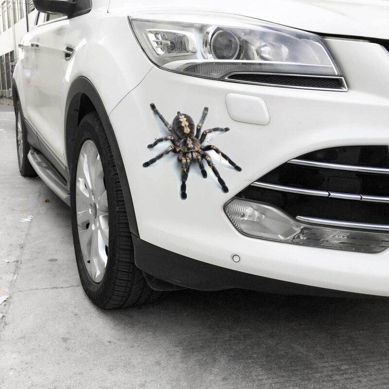 Крутые 3D настенные наклейки в виде животных Паук геккон скорпионы виниловая наклейка на стену Наклейка для домашних автомобилей авто мотоцикл покрытие царапины Декор