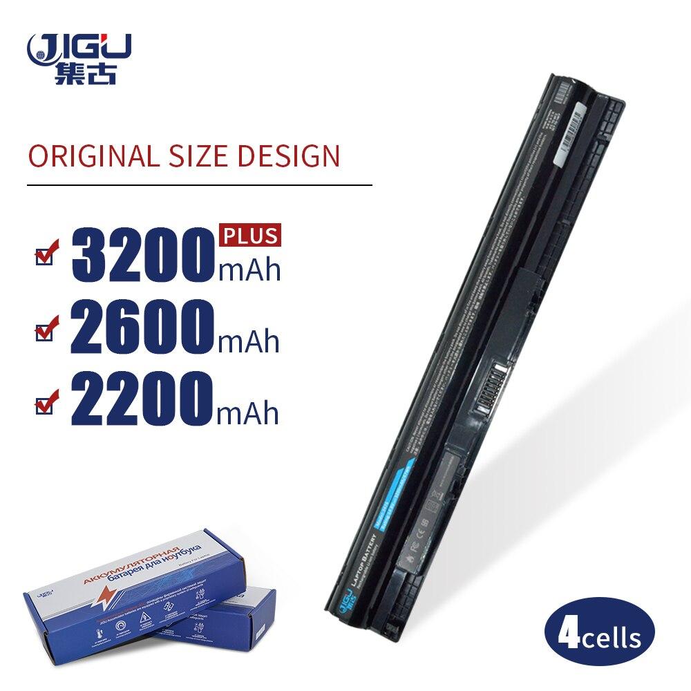 JIGU M5Y1K 1KFH3 P63G K185W 4 Células Bateria Do Portátil Para DELL Latitude 3460 3470 3560 Inspiron 3476 Para 14 15 15-3451-3552-3467