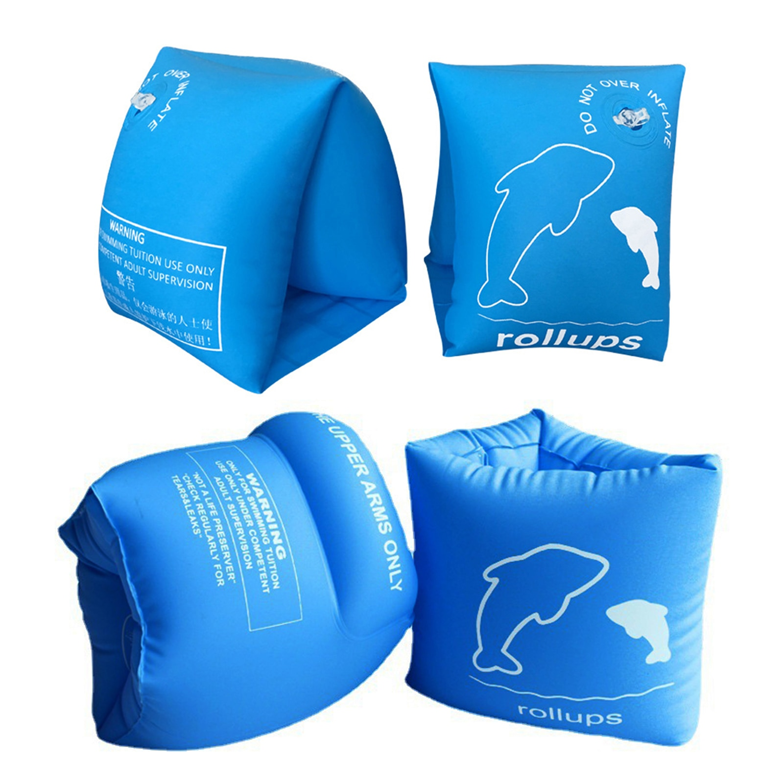 Inflatable Baby Swimming Ring Infant Pool Float Armbands Life Jacket For 2-6 Year Kids Beach Party T