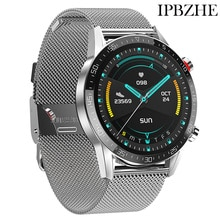 Ipbzhe Smart Watch Men Android 2021 Bluetooth Call Smart Watch Men Sports ECG Reloj Inteligente Smar