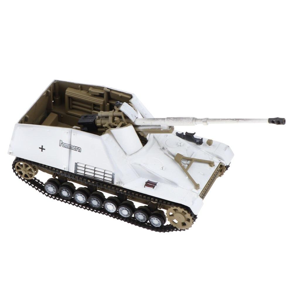 1/72 molde alemán Sd.kfz.164 Nashorn 1944 tanque hornisse-ii Vehículo blindado Diecast ejército juguete de modelo de coche Souvenir