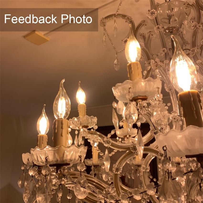 YANG MIN free shipping Hot sale tungsten filament led Edison series CT35 bulb high brightness bulb indoor light