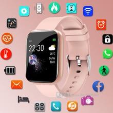 Sport Silicone Smart Watch Women Men Smartwatch For Android IOS Waterproof Fitness Tracker Bracelet Electronics Smart Clock
