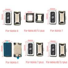Pour Nokia 2 2.1 3 3.1 5 5.1 6 6.1 7 7.1 8 plus Sirocco Écouteur Haut-Parleur Récepteur Écouteur Oreille Haut-Parleur Pièce de Réparation
