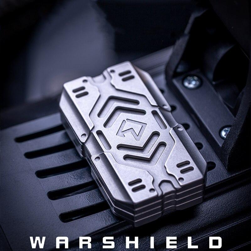 WARSHIELD Rotating Haptic Coin EDC Slider Adult Decompression Toy Boyfriend Gift enlarge