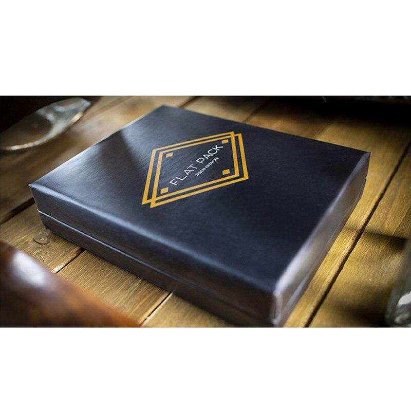 Paquete plano de Jason know Les (trucos e instrucciones en línea), tarjeta Magia, muestra de cerca, trucos de Magia, ilusiones, Magia callejera