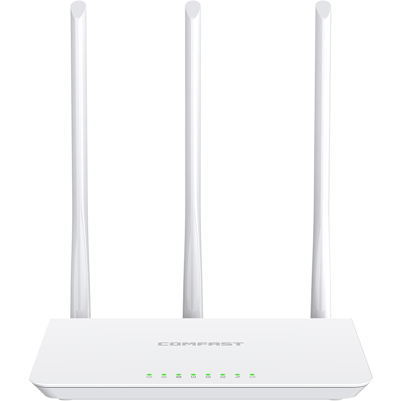 COMFAST 300Mbps Wireless home WiFi Router with 3*3dBi high gain Antennas 3 LAN port 1 WAN port Wider Coverage wireless router
