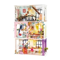 robotime rolife diy dollhouse wooden miniature house for birthday gift