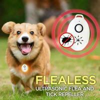 Portable Ultrasonic Flea Repeller Mini USB Flealess Ultrasonic Flea Tick Repeller Pets Electronic Outdoor Pest Control Products