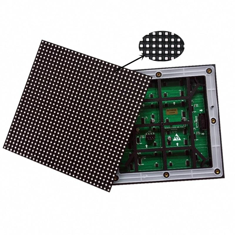 مصفوفة LED P6 خارجية ، 192 × 192 مللي متر ، 32 × 32 بكسل ، ألوان كاملة ، RGB ، HUB75 ، وحدات عرض LED