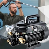 sh s6 high pressure cleaner portable household car washing pump 220v high power automatic cleaning car washing machine 2000w