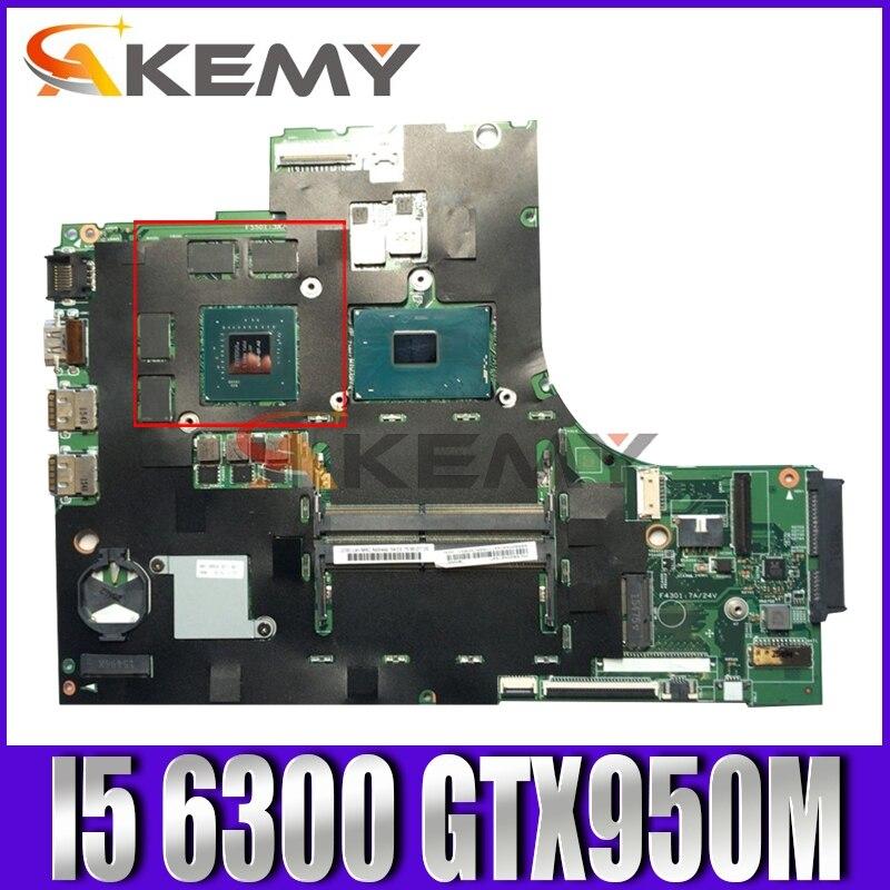 Akemy لينوفو 700-15isk Xiaoxin700 اللوحة المحمول Lol SKL MB 15221-1 M 448.06R01.001M I5 6300 GTX950M DDR4 100% اختبار موافق