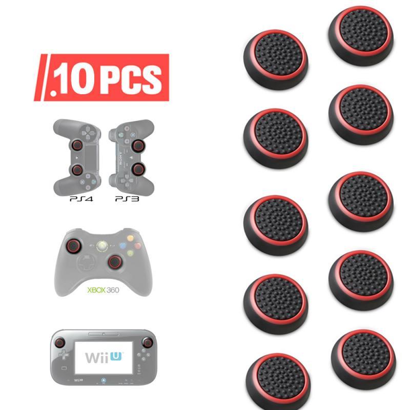 Pulgar Stick-empunaduras analogicas de silicona para Xbox 360, una Playstation 4 para...