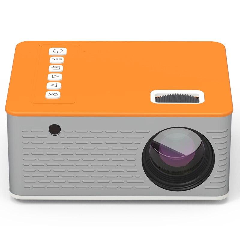 HD Mini UC28D 16.7M عارض فيديو محمول مسرح منزلي سينما مكتب مورد دعم الهاتف المحمول فيلم لعبة Proyector