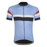Мужская велосипедная Джерси, Классическая простая велосипедная рубашка, летняя дышащая велосипедная одежда, гоночная одежда, велосипедное...