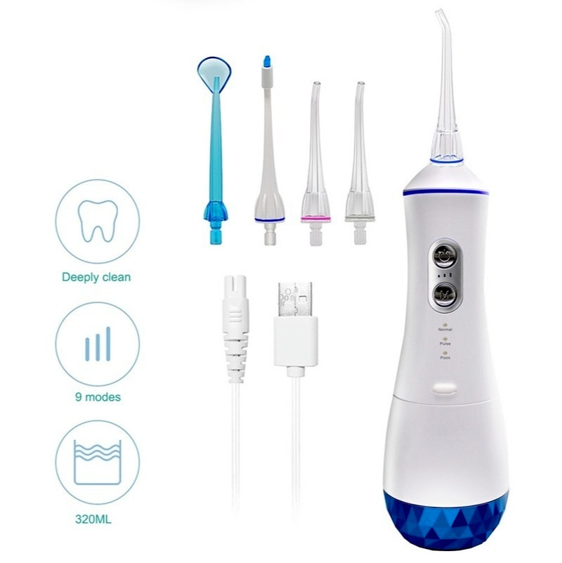 The new 320ml portable brasser flosser water floss oral care custom processing cross-border enlarge