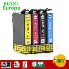 Cartucho de tinta Compatible para 603XL T603 E-603 para Epson XP-2100 XP-3100 XP-4100 XP-4105 WF-2810DWF WF-2830DWF WF-2835DWF WF-2850