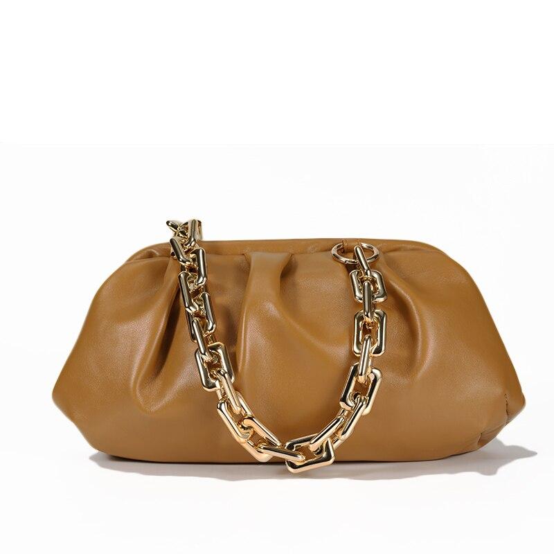 Bag For Women Cloud bag Soft Leather Madame Bag Single Shoulder Slant Dumpling Bag Handbag Day Clutches bags Messenger Bag