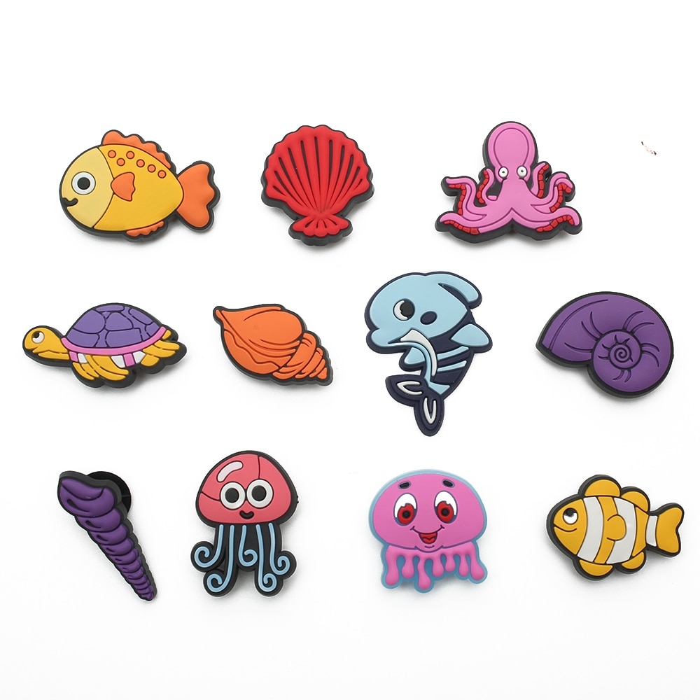 New product 1pc shoe decoration/croc animal shoe charms/shoe accessories for clogs kids school gift
