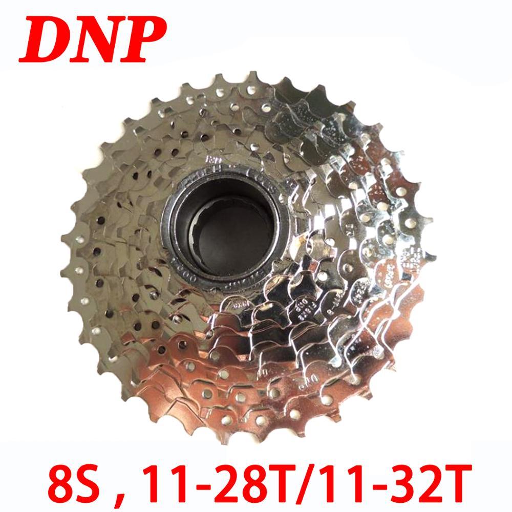 DNP velocidad 8 8 S 11-28T 11-32t bicicleta volante Cassette MTB montaña bicicleta de carretera plegable Torre del piñón de la rueda