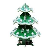 Christmas Tree Kit Electronic Production Kit WAV Music Production Learning Kit Parts Christmas Gift