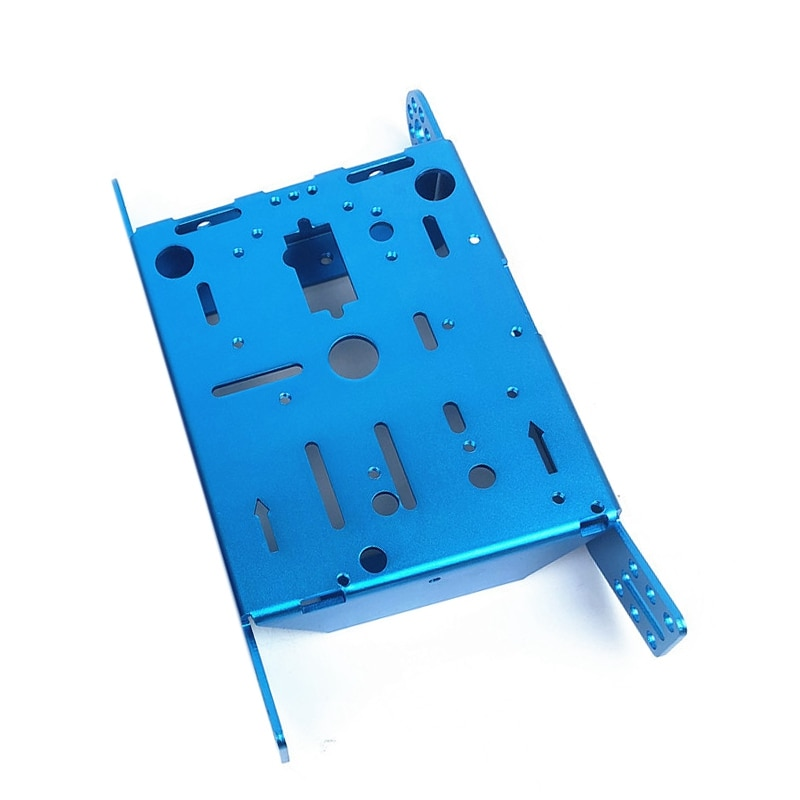 for 3WD Smart Robot Car Chassis Kit with Metal Plate for Arduino Microbit DIY Toy Parts enlarge