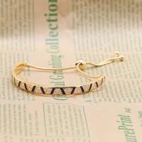 amaia 100 925 sterling silver exotic gems stripe womens bracelet adjustable length bracelet bracelet