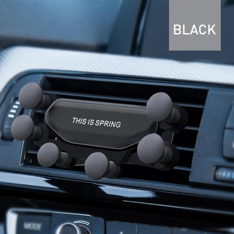 Universal de la gravedad soporte para coche para Mitsubishi asx lancer 10 outlander 3 l200 pajero sport Galán