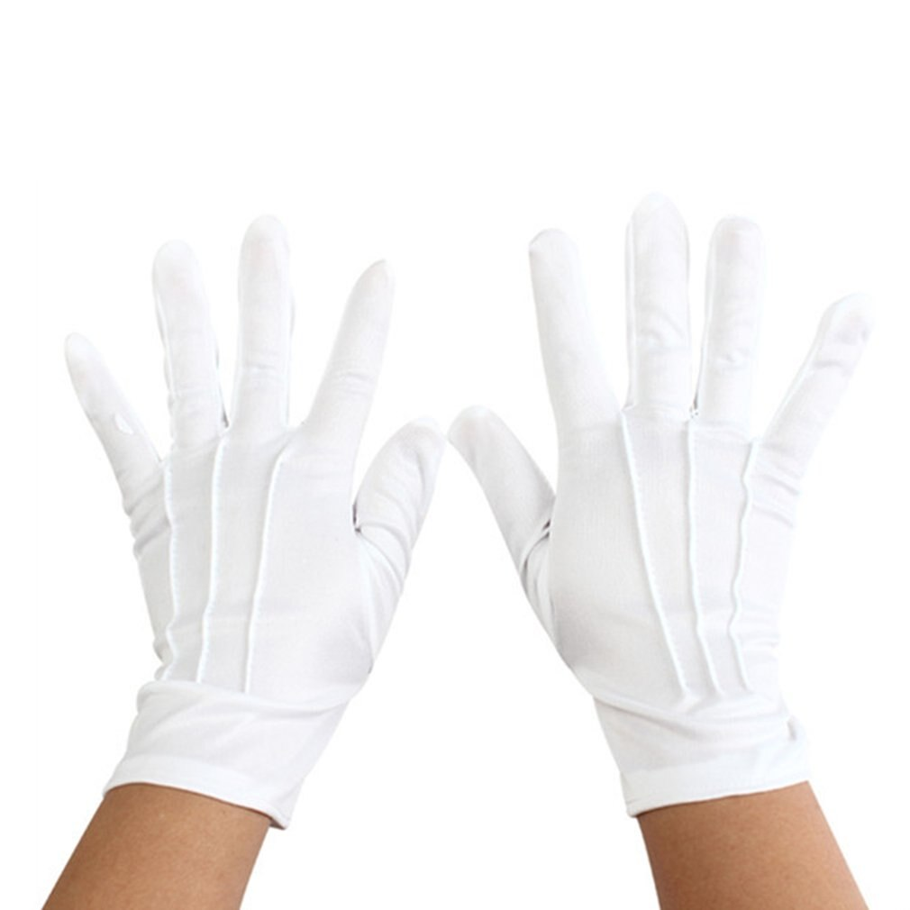 2020 New White cotton gloves wash your hands and protect against proof Male Cotton Sleeveless Round neck