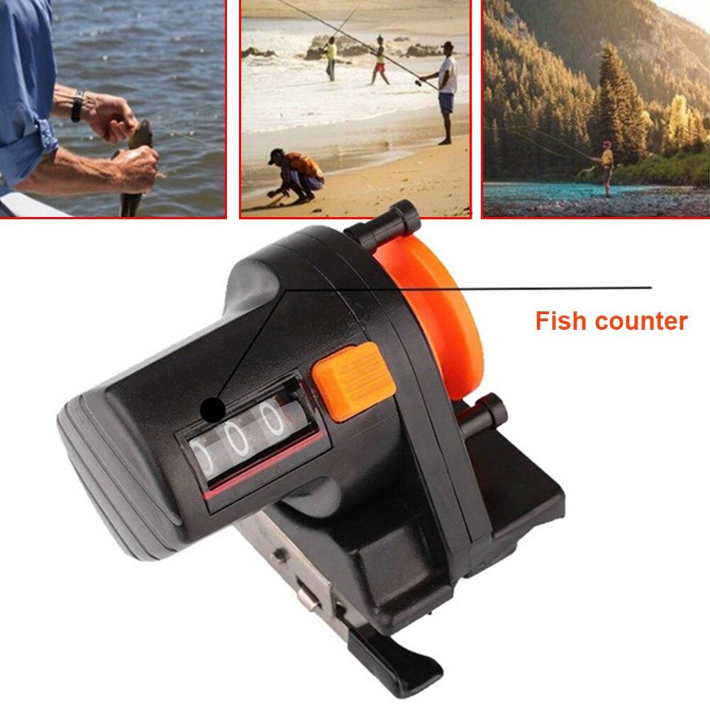 Cuentametros de pesca, medidor de longitud, herramienta de aparejos de profundidad, 0-999M,...