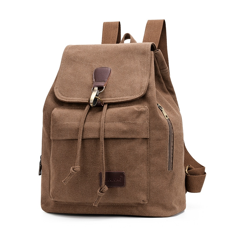 Fashion Retro Women's Canvas Backpack Retro Route Students School Bag Ladies's Outdoors Shopping Cas