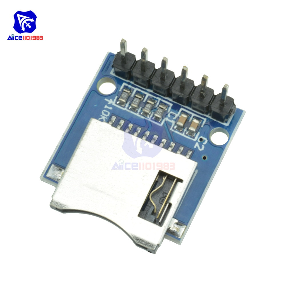 Aliexpress - Micro SD Card Module For Arduino (5pcs)