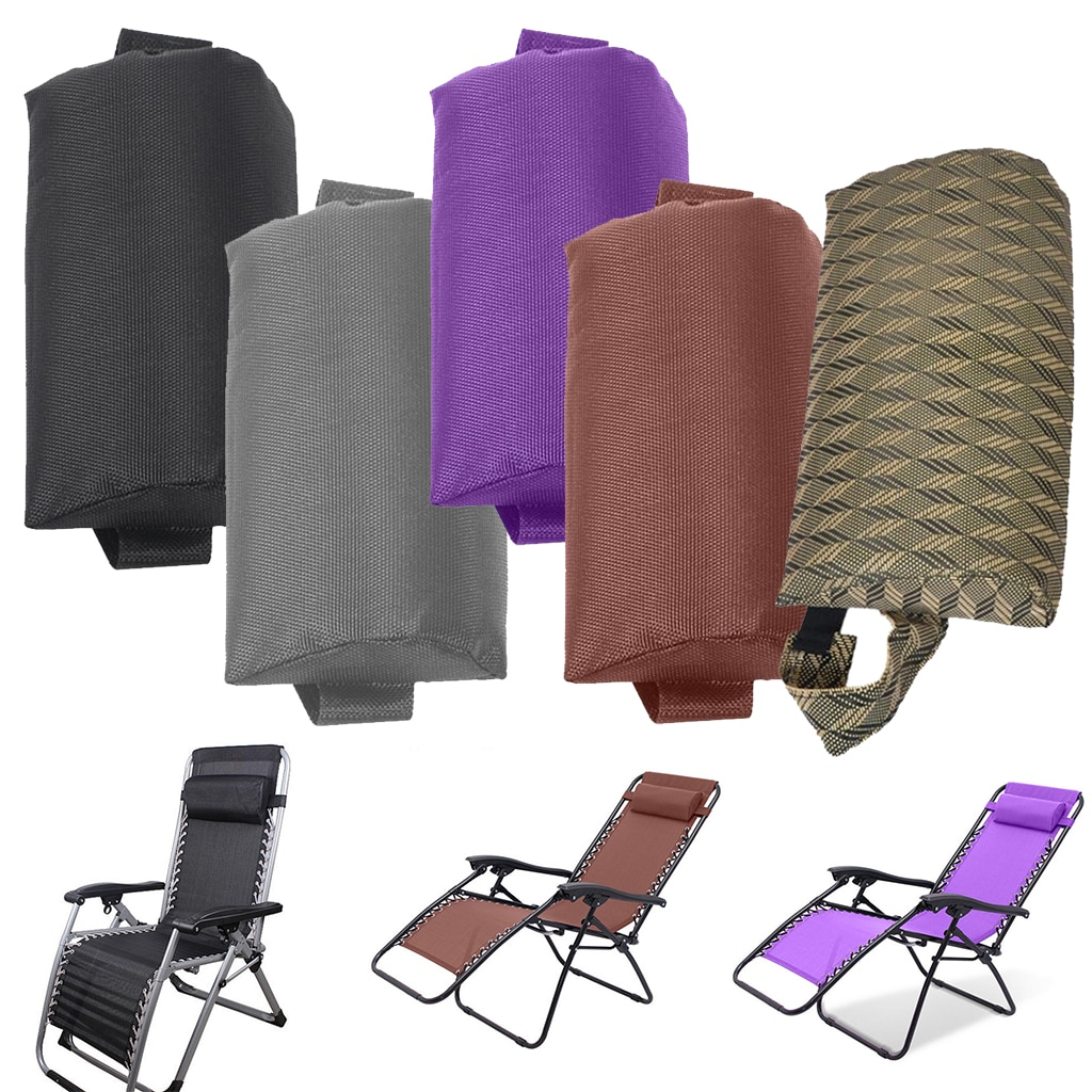 AliExpress - Headrest Head Cushion Pillow for Folding Sling Chairs/Recliner/Lounge Chair for Patio Garden Pool