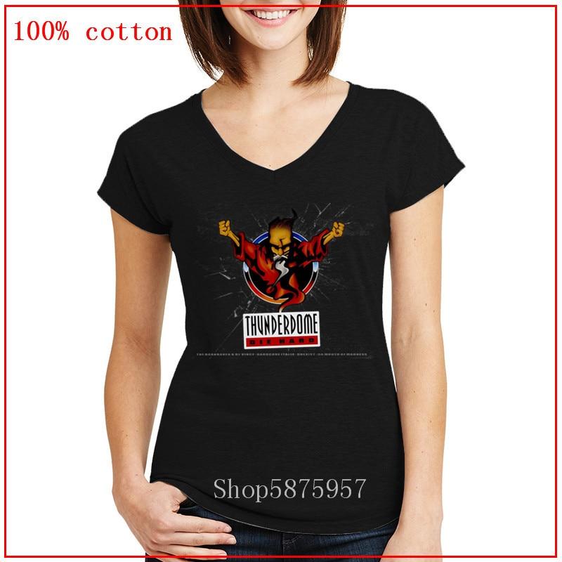 Thunderdome t camisa preta dos homens das mulheres ghostbusters ropa mujer verão logotipo topos morrer grupos duros algodão roupas v pescoço