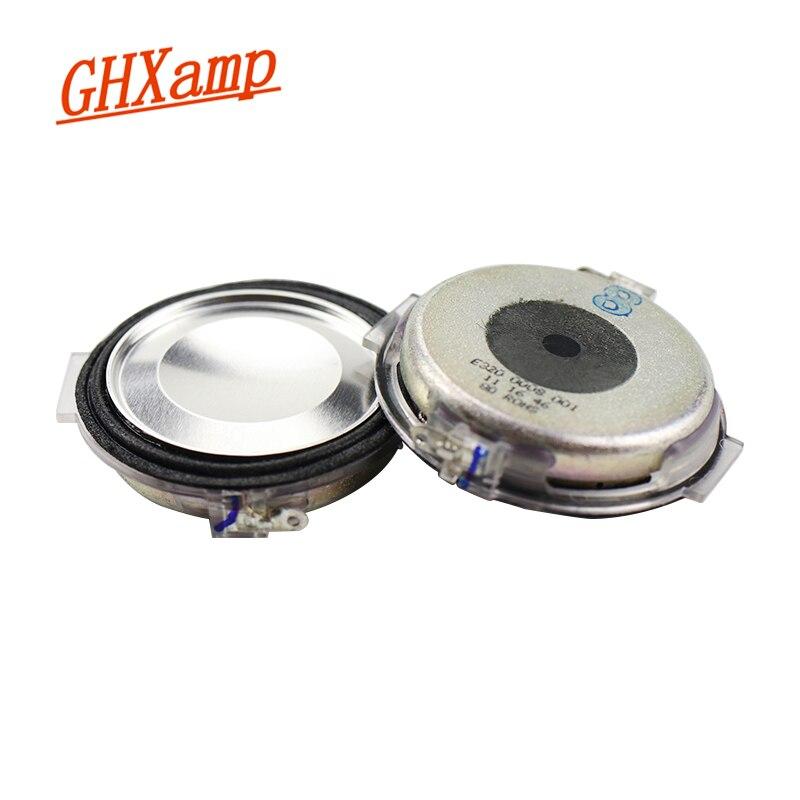 Ghxamp 2 Inch Auto Midrange Luidspreker 8OHM Ultra-Dunne Mid Auto Speaker Neodymium Goede Vocale Effect 2 Pcs
