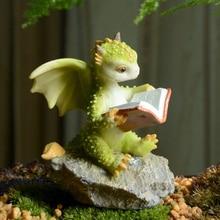 Hoe Tem Je Dragon Ornament Pop Simulatie Magic Miniatuur Beeldjes Geschenken Decoracion Hogar Nordico Home Decor Accessoires