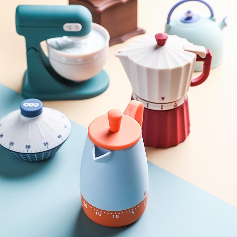 Mechnical cozinha temporizador dos desenhos animados cozinhar abs contador manual relógio de apoio yoga esporte estudo lembrete tempo cozinha restaurante ferramentas