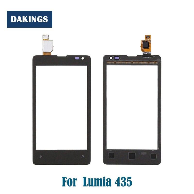 Panel táctil de pantalla táctil para Nokia Microsoft Lumia 435 532 N435...