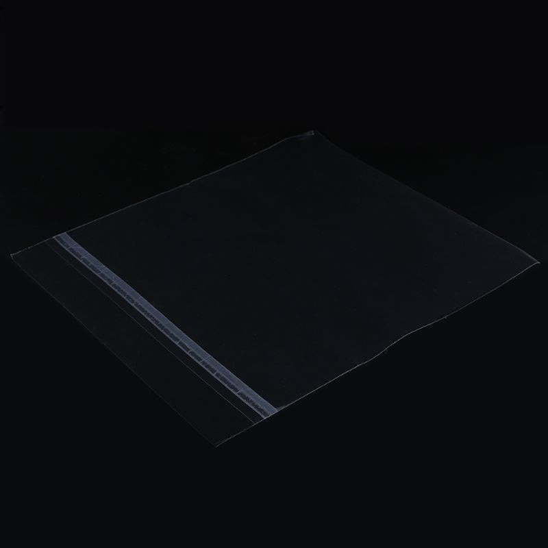 50PCS Gel Record Protective Sleeves Self Adhesive Bag For 7 Inches Vinyl Records Turntable Accessories Dropshipping enlarge