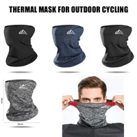 golovejoy winter outdoor fishing mask neck warmer high stretch breathable windproof soft comfortable fabric riding mask