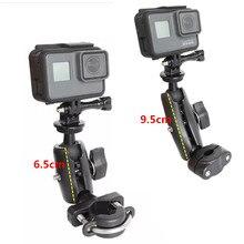 For GoPro 8 Motorcycle Handlebar Holder Yi 4K Rear Mirror RAM Mount for Sony SJCAM EKEN gopro DJI Osmo Action Camera Accessory