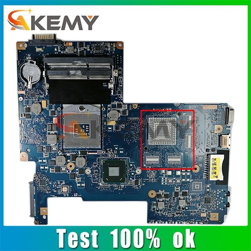 AKEMY H000032380 لأجهزة الكمبيوتر المحمول توشيبا L770 L775 اللوحة الأم HM65 PGA 988B DDR3 اللوحة الرئيسية