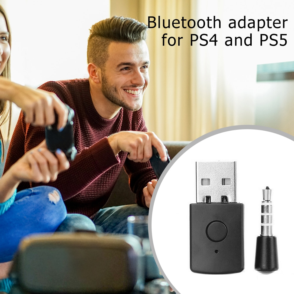 USB Bluetooth Adapter BT 4,0 USB Wireless Audio Adapter Dongles Kopfhörer Empfänger Sender für PS4 PS5 Controller