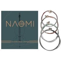 naomi 4pcsset upright bass strings double bass strings 44 34 12 14 18 size g d a e contrabass strings
