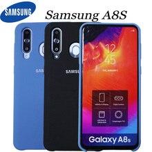삼성 a8s 케이스 원래 실리콘 커버 삼성 a8s 케이스에 대 한 중국 공식 웹 사이트 버전 삼성 갤럭시 a8s 케이스