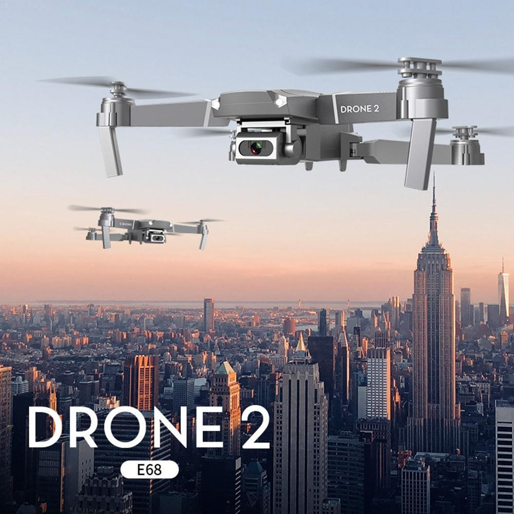 Drone 4k Profesional E68 Drone Helicopter Hd 4k 1080p Mode Wide Foldable Hold Hight Angle Rc Camera Wifi Quadcopter