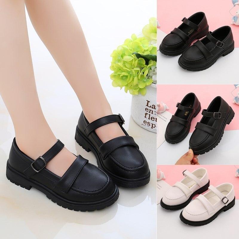 nova princesa sapatos para grande festa das meninas sapatos de couro menina vestido
