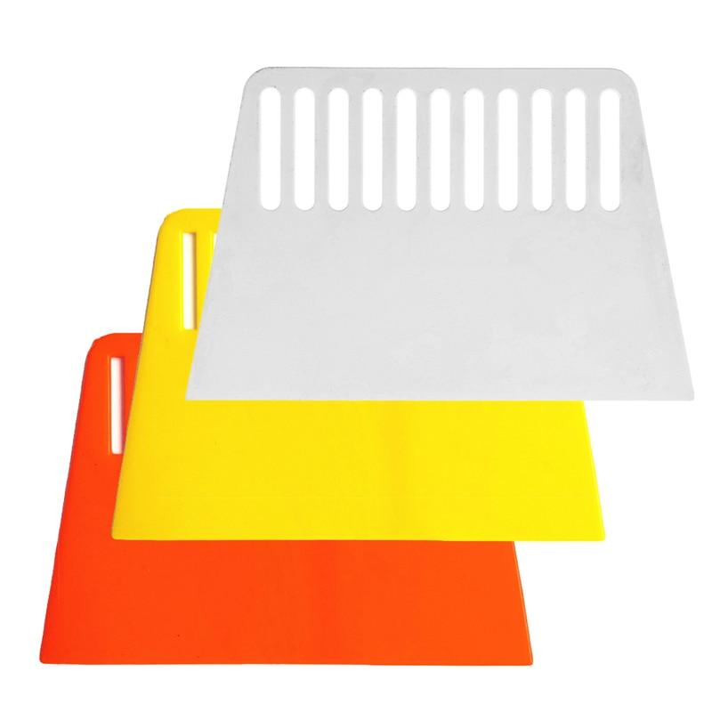 2020 novo papel de parede suave alisamento raspador ferramenta flexível rígida