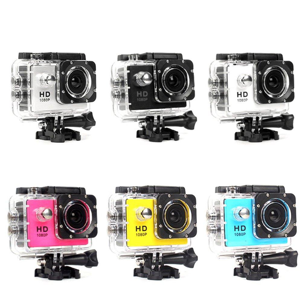 2021 New Action Camera Plastic 30M Waterproof Diving Pro Sport Mini Dv 640P Video Camera Bike Helmet Car Cam Dvr car accessories